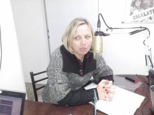 Gabriela Spengler, coordinadora del Área de Cultura