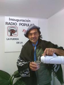 Alcides Sosa, organizador del Festival de la caña con ruda